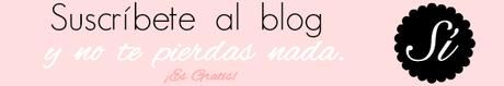 suscribete al blog