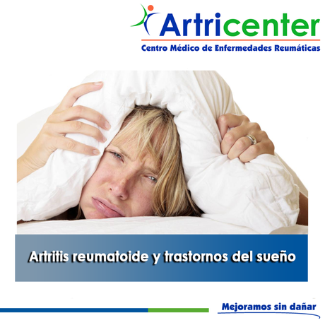 Artricenter: Artritis reumatoide y trastornos del sueño