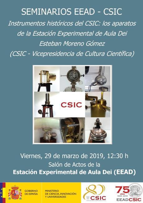 Los Instrumentos -y su historia- de la ciencia española