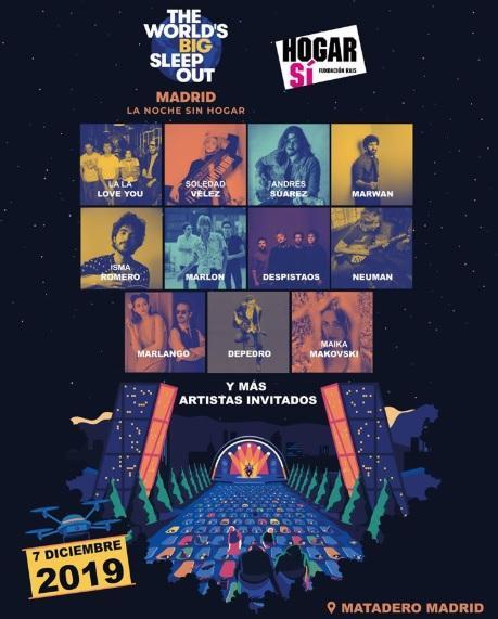 Matadero Madrid acoge este sábado 'La noche sin hogar'