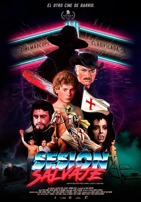 póster de Sesión salvaje