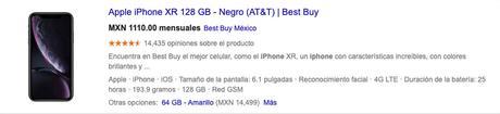 Datos En Una Ficha De Producto De Google Shopping