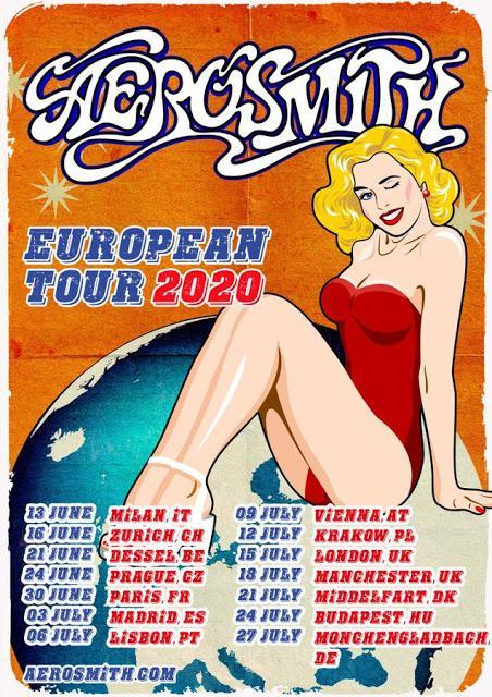 Concierto de Aerosmith en el Wanda Metropolitano de Madrid el 3 de julio de 2020