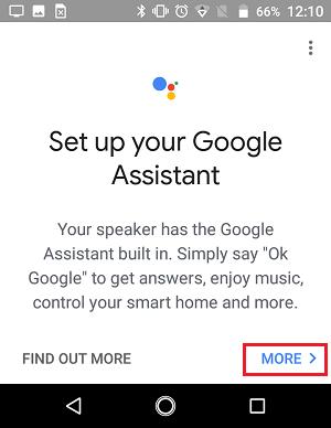 Cómo configurar el dispositivo Google Home