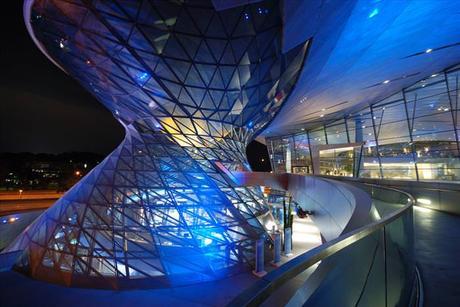 Diseños Arquitectónicos BMW Welt Múnich