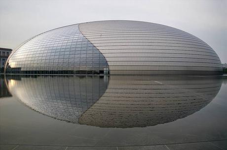 Diseños Arquitectónicos Centro Nacional de Artes Escénicas Beijing