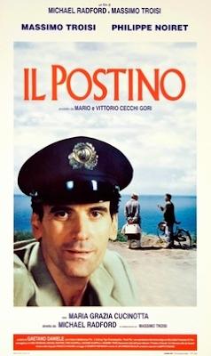 Cine: El Cartero y Pablo Neruda (iL Postino)