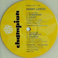 KENNY LARKIN - INTEGRATION