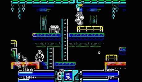 Nuevo vídeo de Power Blade para ZX Spectrum
