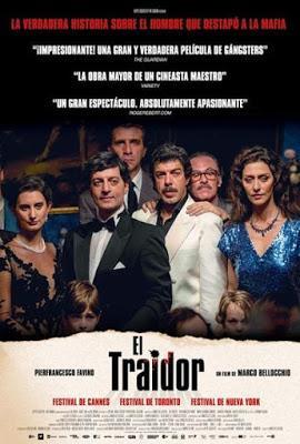 TRAIDOR, EL (Traditore, Il) (Italia, Brasil, Alemania, Francia; 2019) Judicial, Histórico, Biográfico, Negro
