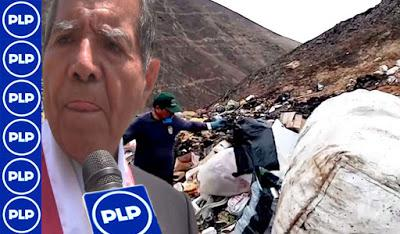 Cañete: BOTADERO INFORMAL EN SANTA CRUZ DE FLORES...