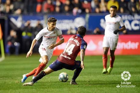 Crónica Osasuna 1 - Sevilla FC 1