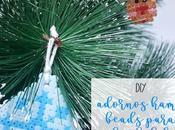 DIY: Adornos hama beads para árbol navidad