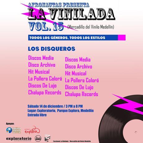 La Vinilada Vol. 15 / Mercadilo del vinilo Medellín