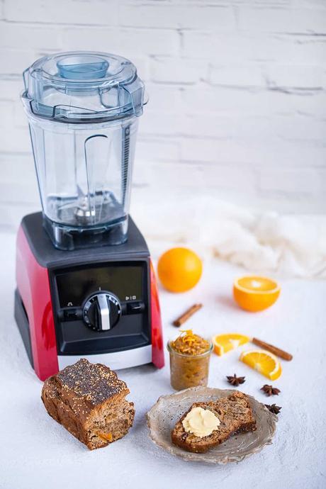 Pan de Especias: receta y SORTEO (Vitamix)
