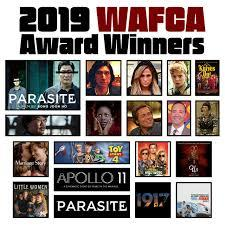 PREMIOS DE LOS CRÍTICOS DE WASHINGTON (WAFCA Awards 2019)