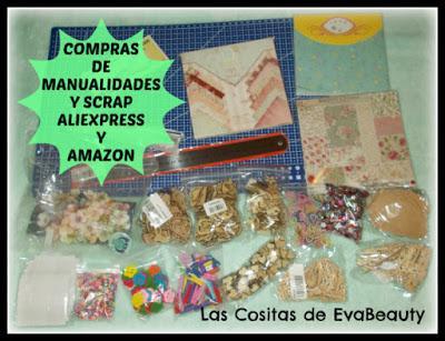 compras low cost manualidades y scrapbooking en aliexpress y amazon