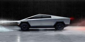 presentación por parte de Elon Musk sobre el nuevo camión de Tesla motors llamado cybertruck