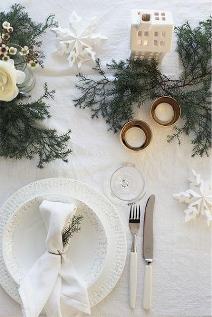Una mesa de Nochebuena mágica