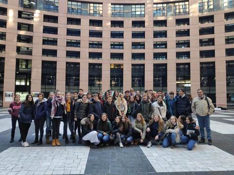 Alumnos del IES Hermanos Machado en Francia y Alemania gracias a dos proyectos.