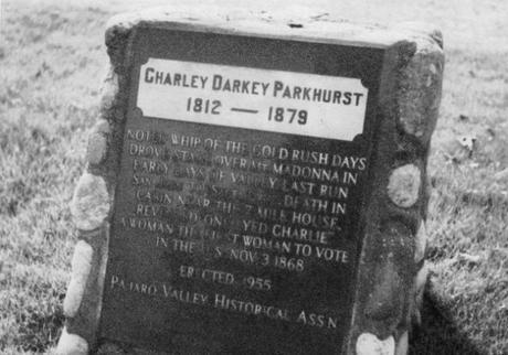 Charley Darkey Pankhurst, Charlotte Pankhurst, One-eyed Charley, Charley El Tuerto, Diligencias
