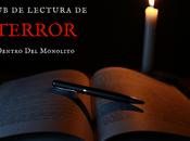 Convocatoria xviii club lectura terror