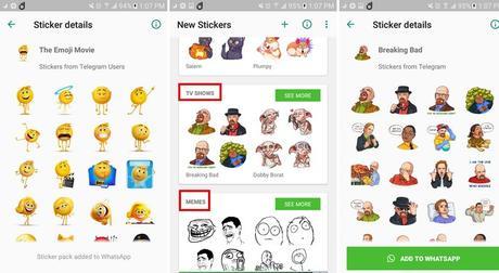 7 de los mejores paquetes de Pegatinas para WhatsApp
