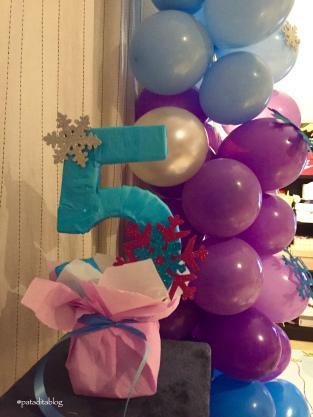 Manualidades para decorar un cumpleaños de Frozen