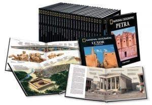 Colección de libros de arqueología de RBA - National Geographic
