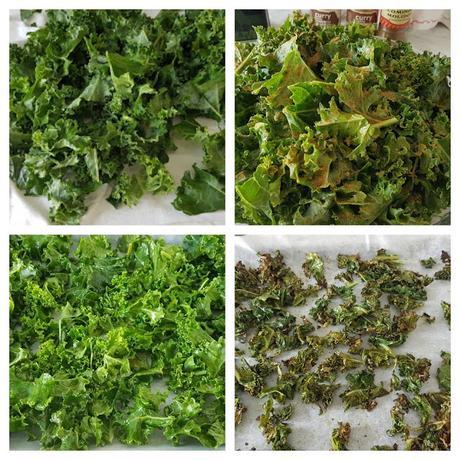 Kale gratinado con especies   #lunessincarne