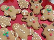 Galletas jengibre navideñas