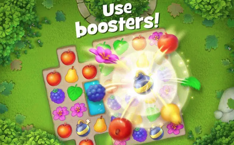 Gardenscapes booster