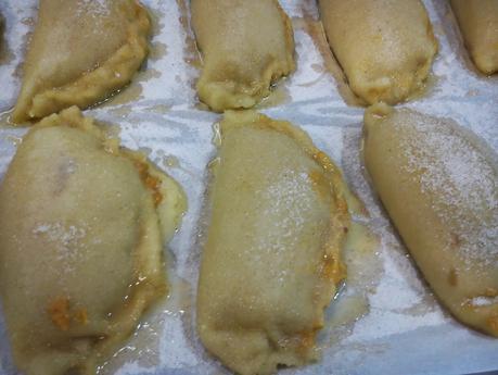 Pastissets de calabaza .... un dulce que no puede faltar en las mesas de navidad