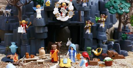 Exposiciones de Playmobil en Navidad
