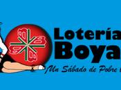 Lotería Boyacá sábado diciembre 2019