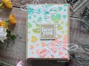 """Sparkly """"Love You"""" Card"""