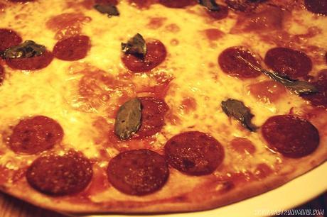 Pizza clásica de pepperoni
