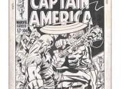 Originales portadas Captain America Fantastic Four Jack Kirby