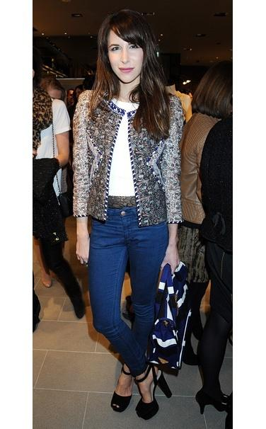 Caroline Sieber and Isabel Marant Spring 2011 Reilly Jacket Photograph