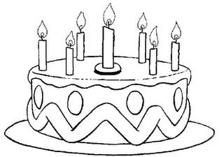 Cumpleaños Feliz Dibujos Para Colorear Y Canciones Paperblog