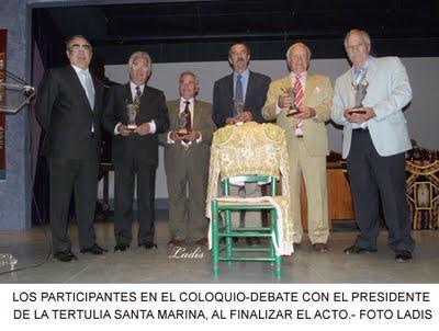 CORDOBA: ÉXITO DEL XX COLOQUIO TAURINO DE LA TERTULIA SANTA MARINA