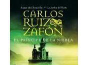 príncipe niebla, Carlos Ruiz Zafón Plumas ayer