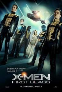 Póster X-Men: Primera Generación UK
