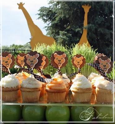 Un cumplea os con decoraci n safari paperblog for Decoracion infantil barata