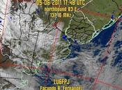 Nube cenizas Volcán Puyehue (imagen satelital)