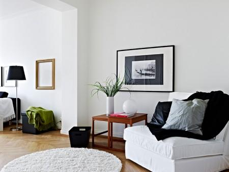 Blanco negro y gris paperblog for Decoracion hogar gris