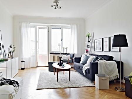 Blanco negro y gris paperblog for Sofa gris y blanco