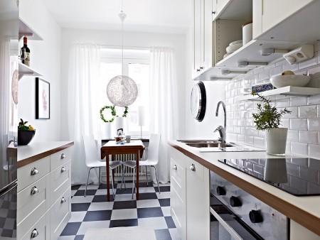 Blanco negro y gris paperblog for Diseno cocinas paralelo