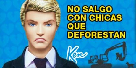 Ken ha cortado con Barbie