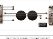 Logo Google homenaje guitarrista Paul.